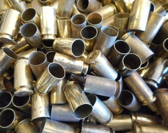 40 S&W Once Fired Brass 350 + Piece, Unprocessed. This brass is great for reloading, jewelry making and other crafts. Ready to Ship Now.