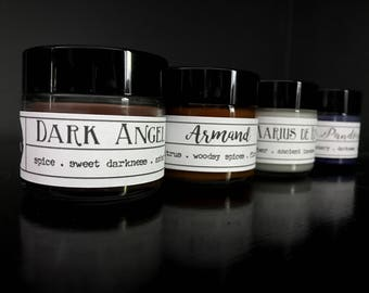 Pick 4! 2oz Sample Size Vampire Chronicles Candles