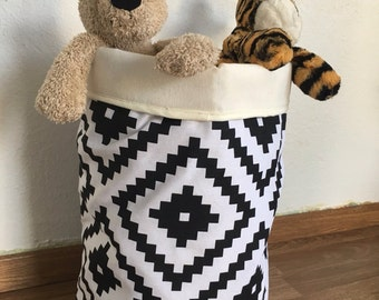 2ND SALE! Black and White toys bag