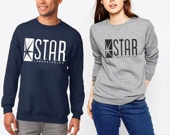 The Flash TV Series STAR Labs Sweatshirt Fandom Perfect Gift Unisex Size S-2XL
