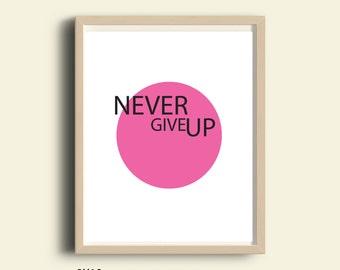 inspirational print, PRINTABLE, motivational print, modern office wall art quotes, typography print, feminist, inspirational her, dorm decor