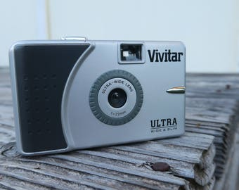 Original Vivitar ultra wide and slim! W/strap not no SUPERHEADZ copy HAHA