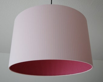 "Lampshade ""Rosé-striped"""