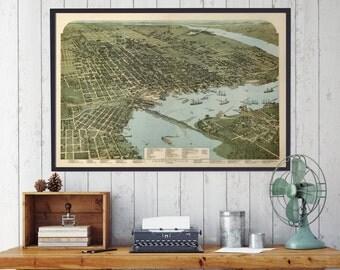 Jacksonville Florida, Jacksonville, Florida, Jacksonville Map, Florida Map, Beach, Florida State, City Map, Map of Florida, 131