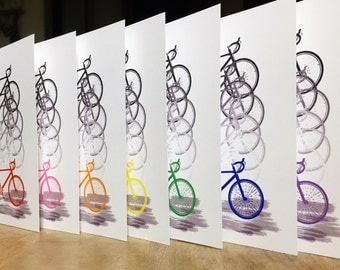 Colorful Bicycle Cards