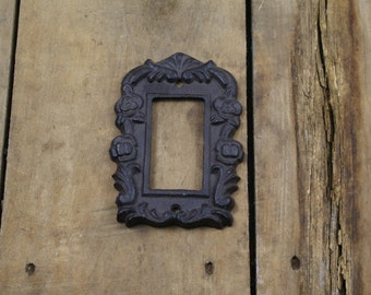Cast Iron Light Switch Plate Cover