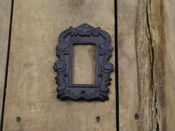 Cast iron light switch plate cover - Wrought iron switch plate covers ...