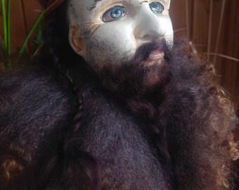 Collectible doll Viking