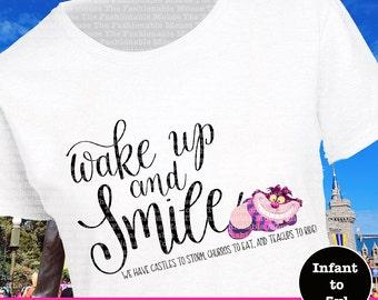 Chesire Cat Tee, Chesire Cat Shirt, Alice In Wonderland Tee