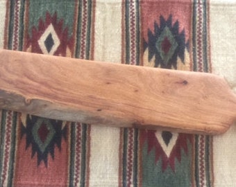 Mesquite live edge bread board or serving tray