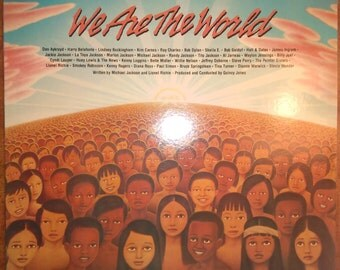 Various Artists - We Are the World (Single) US2-05179 Vinyl Record LP 1985