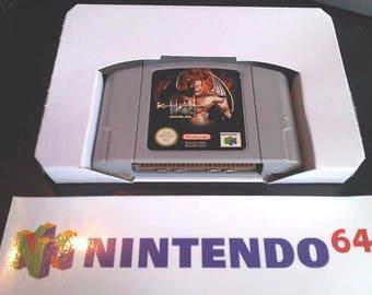 Nintendo N64 Game Insert / Tray Cart Holder Cardboard