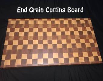 12 x 12 End Grain Cutting Board