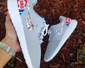 Nike Roshe One Custom 'Chicago Cubs' HomeRun Edition