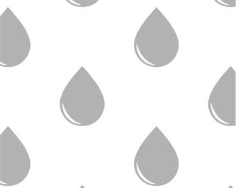 Raindrop Wall Decals~ Raindrop Wall Stickers~ Raindrops~ Bathroom Decor~ Nursery Wall Stickers~ Nursery Decor~ Wall Stickers ~ Nursery Decal