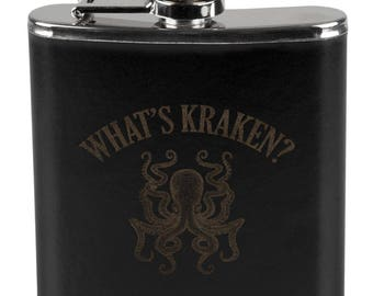 What's Kraken Octopus Squid Flask