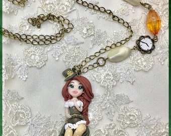 Steampunk Necklace Norah