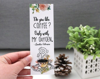 Do You Like Coffee Bookmark - TV Series