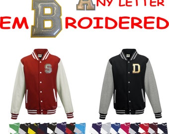 Personalised great quality adult varsity jacket