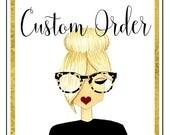 Custom Order For Gaie
