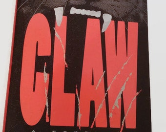 Claw by Ken Eulo & Joe Mauck   Hardcover 1st Edition   Horror