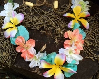 Tropical Hawaiian, Polynesian, Wedding, Flower Crown/Headband
