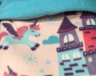 Snuggle Sack Pet Blanket Bonding Bag Cozy Cuddle Cuddle cup cozy sack pet bed Unicorn Dreams