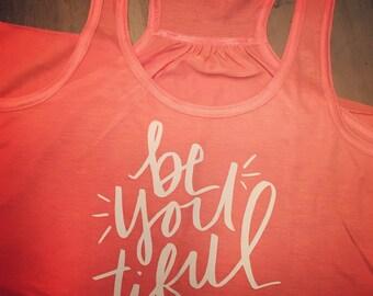 beYOUtiful workout tank