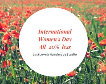 International Women's Day, Mother Day, Gift, Promo Code