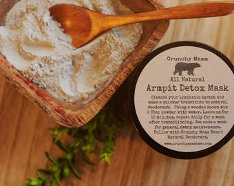 Armpit Detox Mask-Remove Toxins-Lymphatic Cleanse