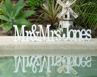 Wedding Sign, Mr and Mrs custom wooden wedding sign, Rustic wedding sign, Wooden wedding sign, Wedding Decorations