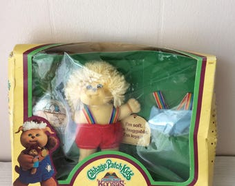 Reserved to Heather,  Cabbage Patch Kids, Koosas, playmate, collectible, rare to find, new in box, good condition