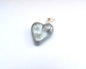 Breastfeeding keepsake gift - silver boobies, breastfeeding jewellery charm, breastfeeding keychain, nursiversary