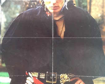 """Vintage Adam Ant poster. Double sided. 23.5x16.5"""""""