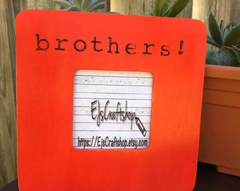 brothers personalized photo frame sisters picture frame personalized gift personalized picture frame