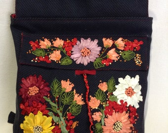 bag- backpack handmade