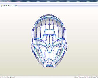 Destiny helmet. monitor template for RFQ archive