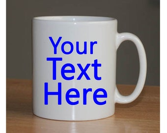 Customize your own! // Personalize your own mug // gift ideas // Custom mugs // Customize yours // Fun Gifts