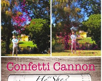 """SALE 16"""" XXL Confetti Cannon Gender Reveal Confetti Cannon"""