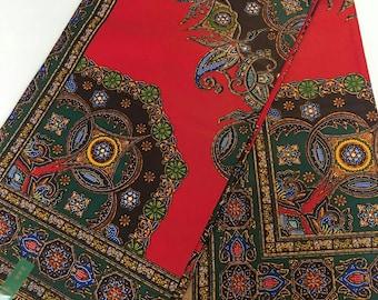 African print fabric/Dashiki/per panels/African Clothing 100% Cotton