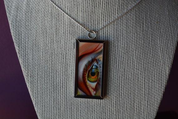 Eye Print in Pendant