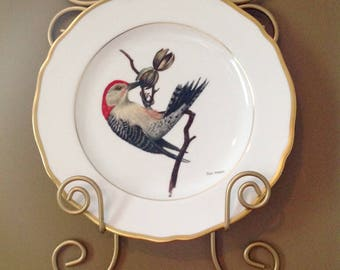 Spode American Songbird Collector Plate by Ray Harm England Bone China