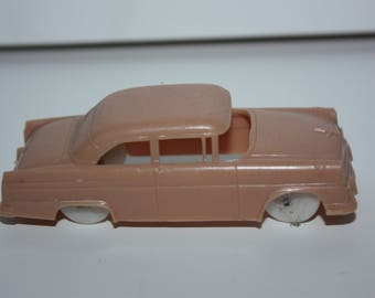 FF Mold Post Cereal Tan 1950's Ford Tudor Toy Car Premium 1960's