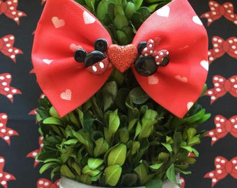 Mickey & Minnie Mouse Hair Bow