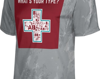 ProSphere Men's What's Your Type Causes Marble Tech Tee
