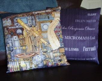 Telescopolis 100% Silk Cushion, Original design