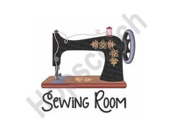 Sewing Machine - Machine Embroidery Design
