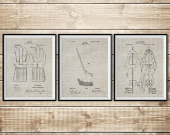 Hockey Printable, Patent Print Group, Hockey Wall Print, Hockey Art Print, Hockey Wall Art, Hockey Stick Poster,Hockey Art, INSTANT DOWNLOAD
