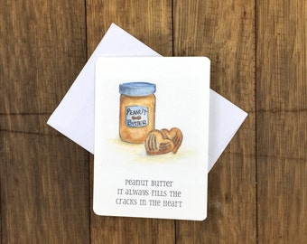 Peanut Butter – Greeting Card