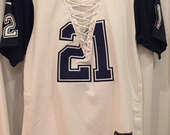 Cowboys lace up jersey